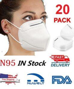 KN95 20 Pcs Pack